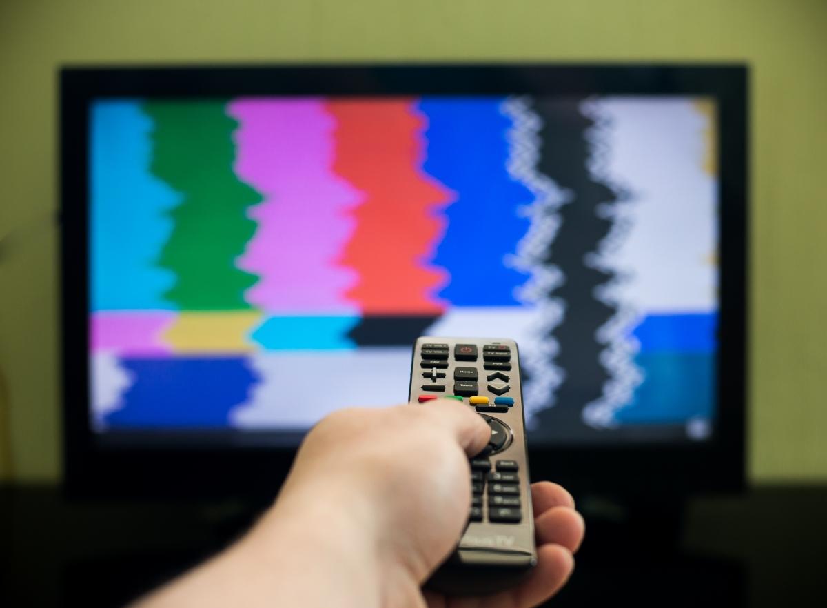 Turning off TV
