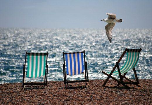 summer boredom on a beach