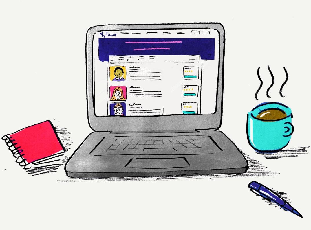 illustration-laptop-with-mytutor-site-and-mug-of-tea