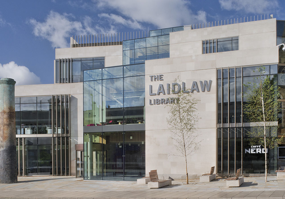 Laidlaw library Leeds university