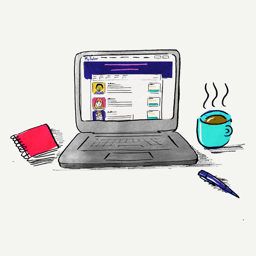 Laptop-illustration